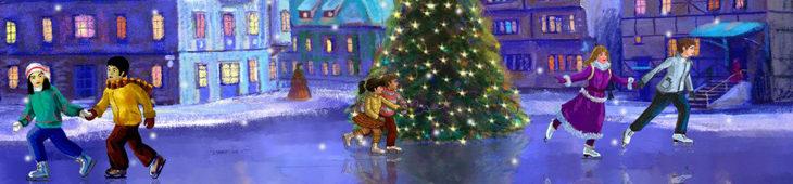 Veřejná a disko bruslení o vánočních svátcích…